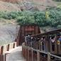 Tren turístico de la Cueva de El Soplao
