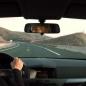 Rubia al volante