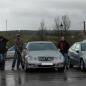 Posando con los carros de otros routeros high class