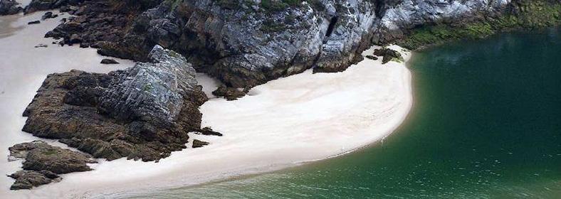 Playa de Amió, en Pechón
