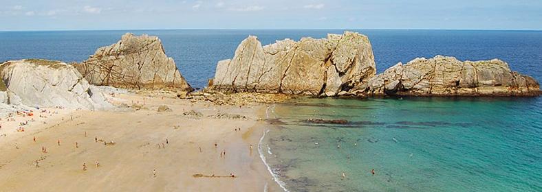 Playa de Arnía, en Liencres