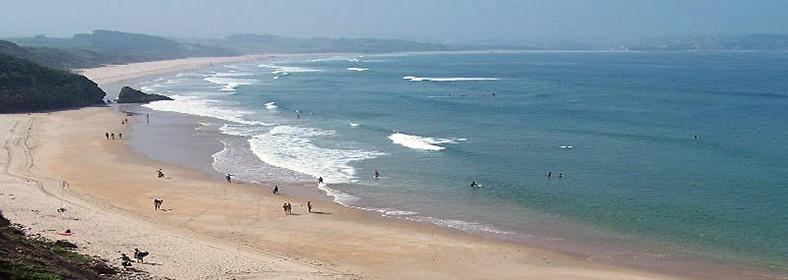 Playa de Gerra, en San Vicente de la Barquera