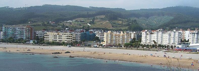 Playa de Ostende, en Castro Urdiales