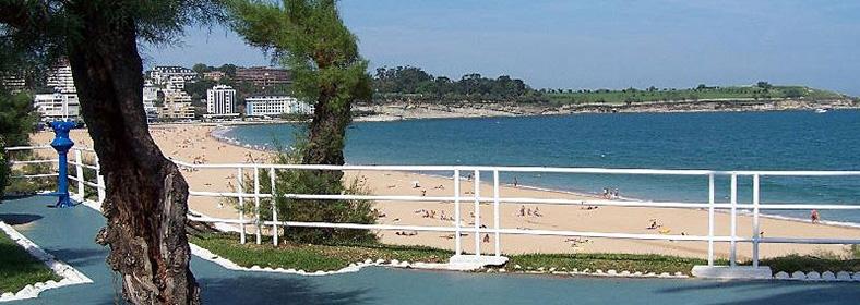 Playa Segunda de El Sardinero, en Santander