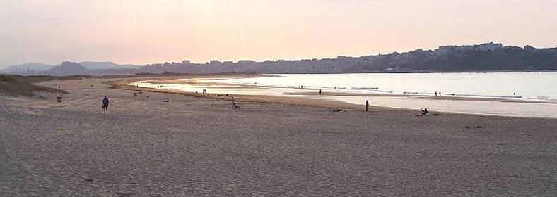 Playa de Somo, en Somo