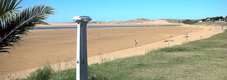 Playa de Usil, en Mogro